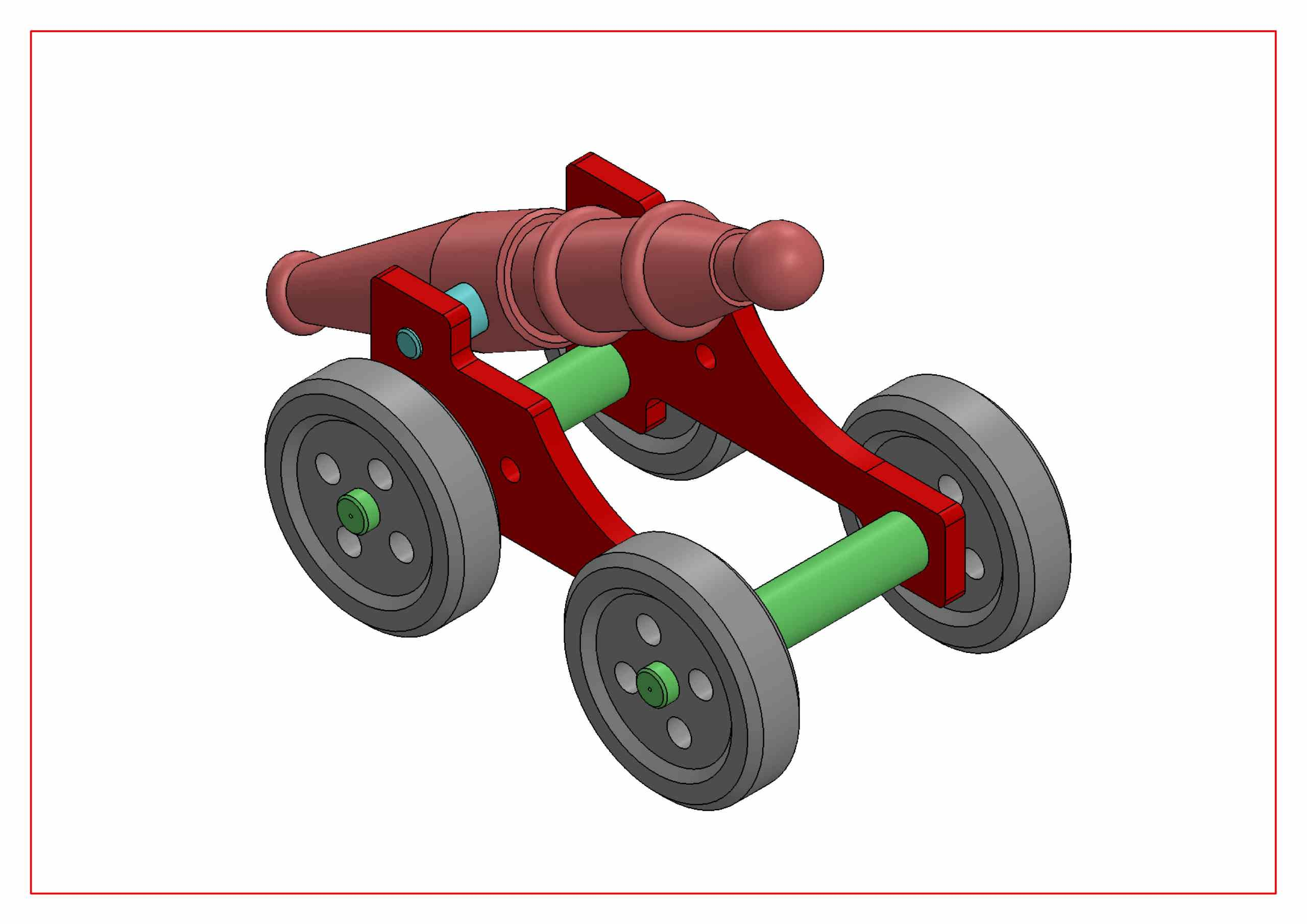 ASSEMBLY DRAWING IN SOLIDWORKS ISOMETRIC VIEW -2