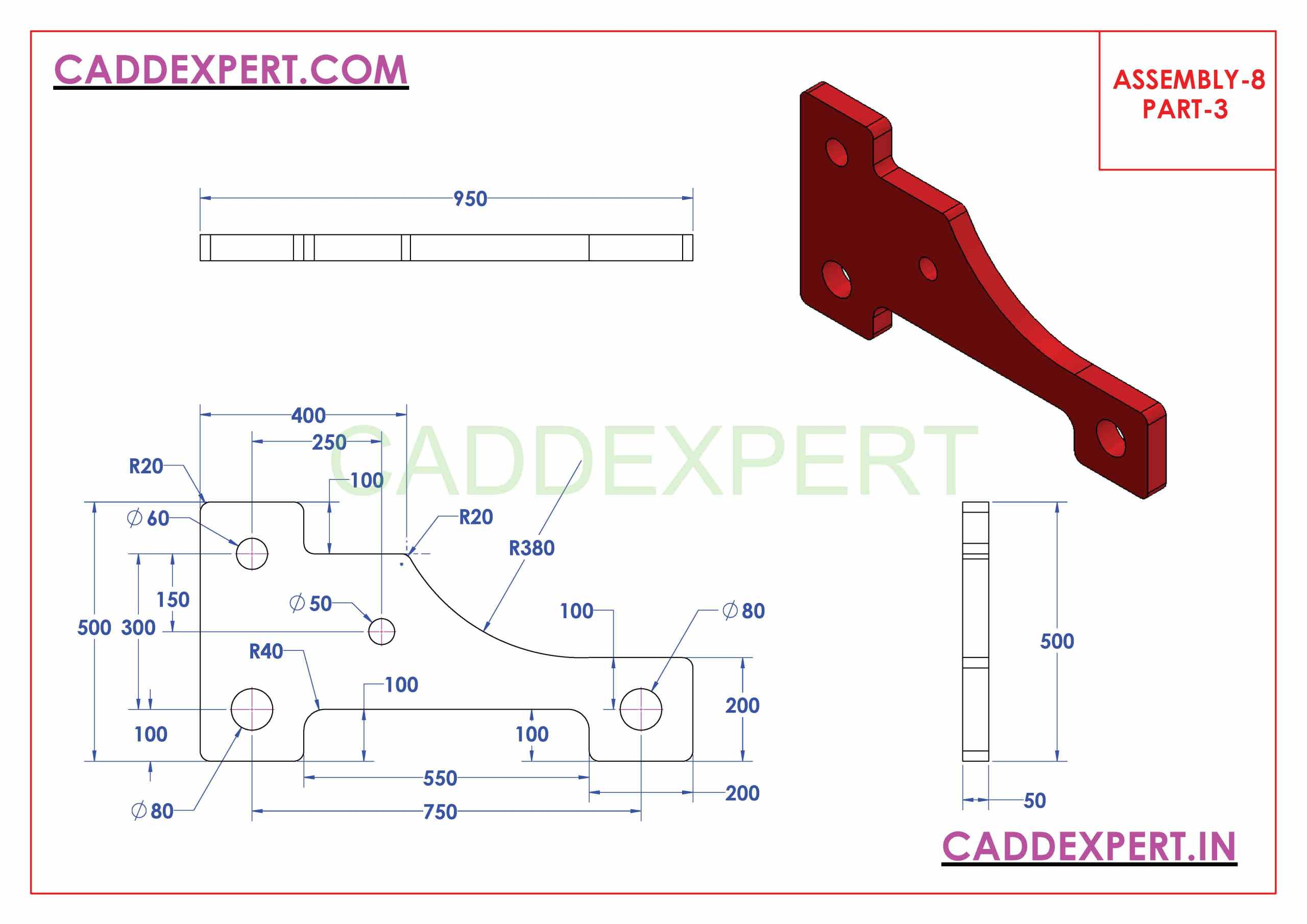 ASSEMBLY DRAWING IN SOLIDWORKS PART -3