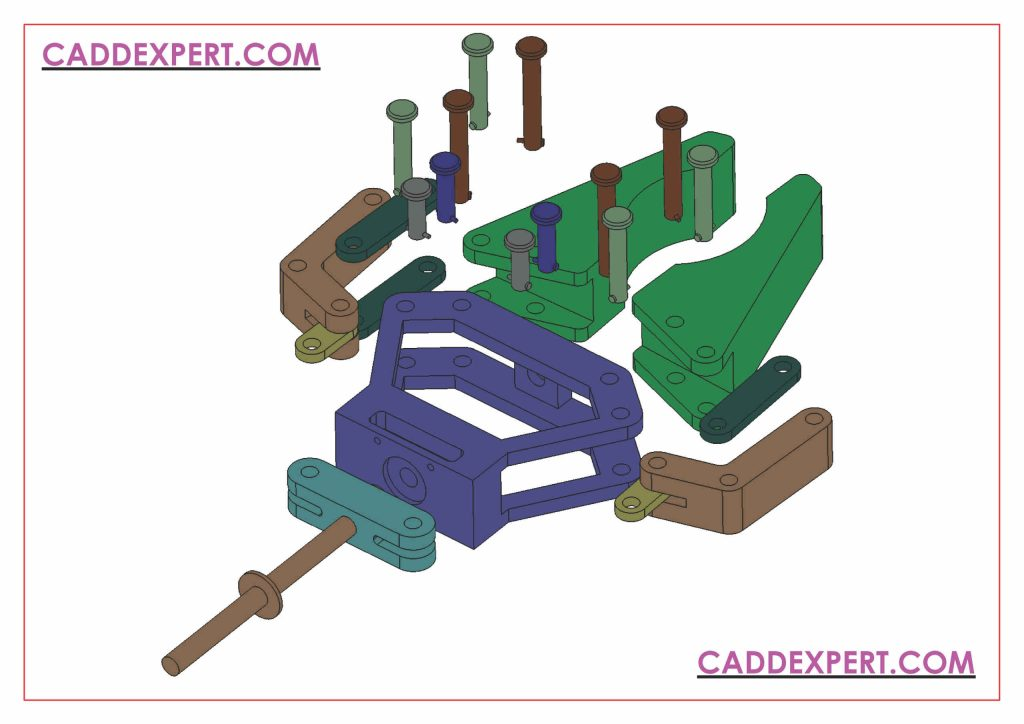 SOLIDWORKS ASSEMBLY DRAWING EXPLODED VIEW