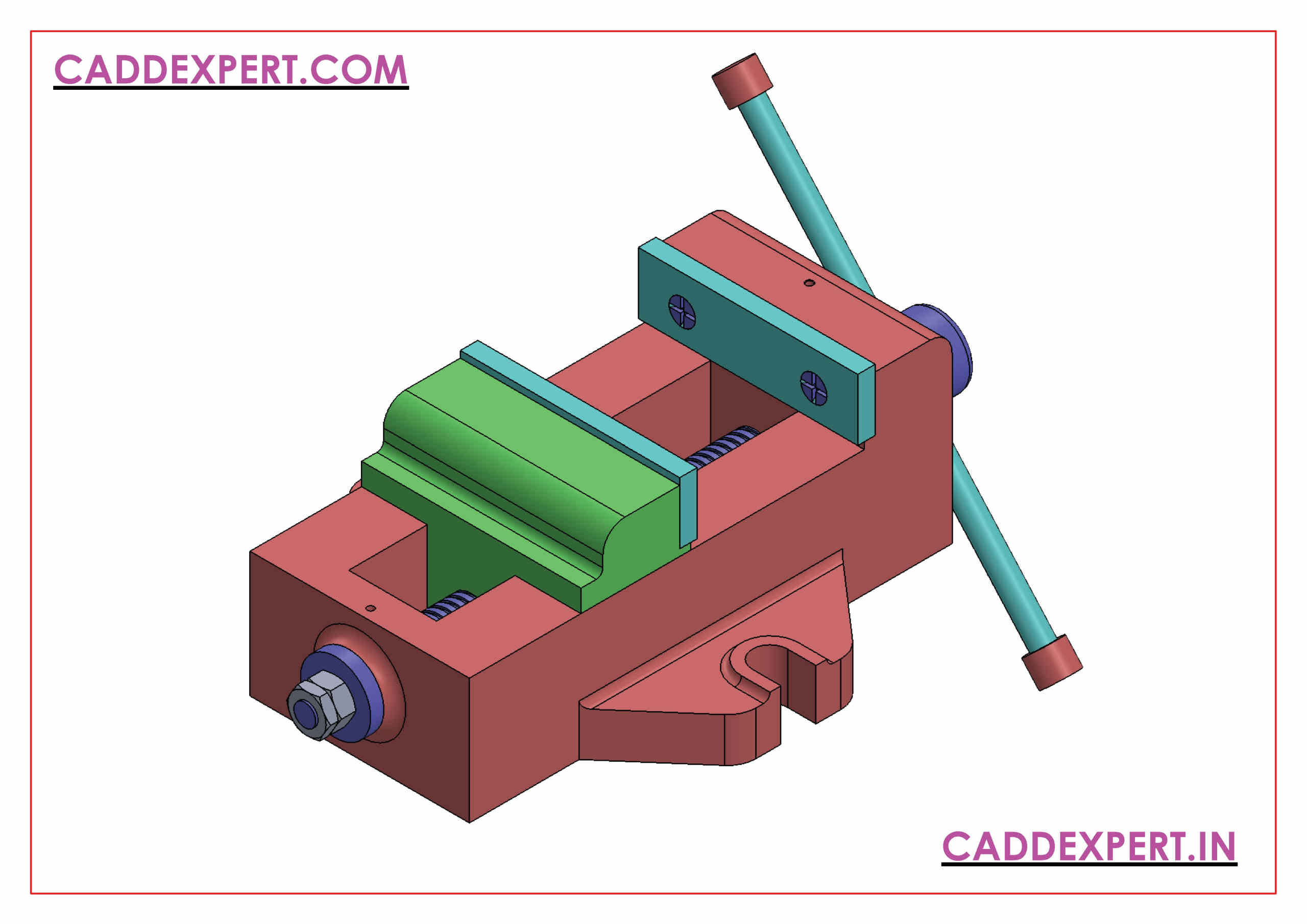 SOLIDWORKS ASSEMBLY ISOMETRIC VIEW