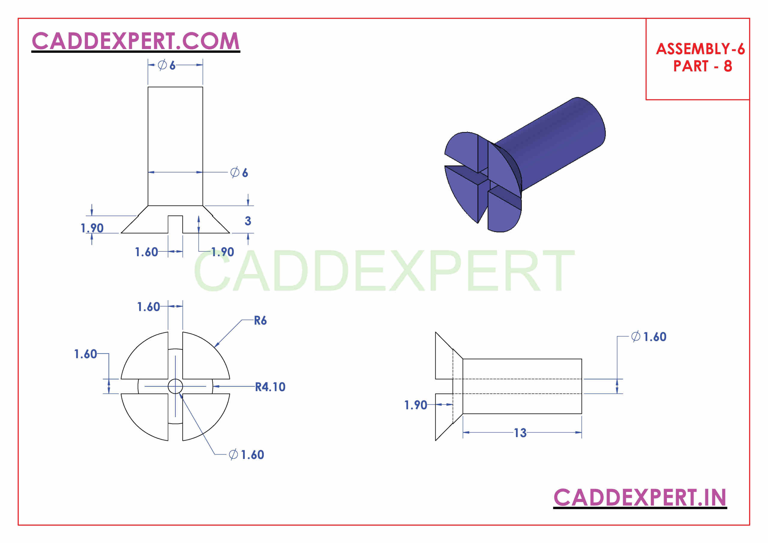 SOLIDWORKS ASSEMBLY PART - 8