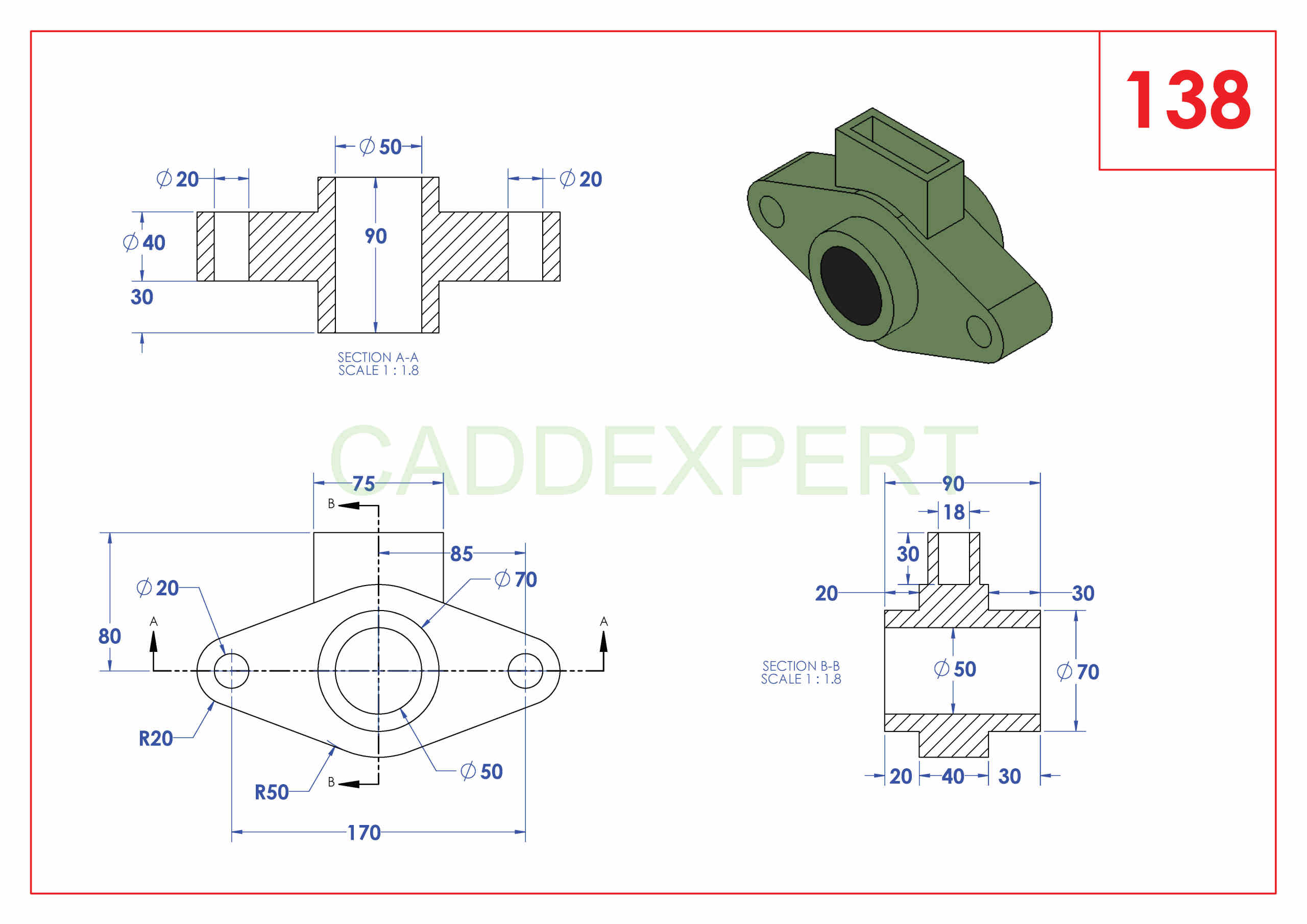 50 SOLIDWORKS EXERCISES PDF - 138