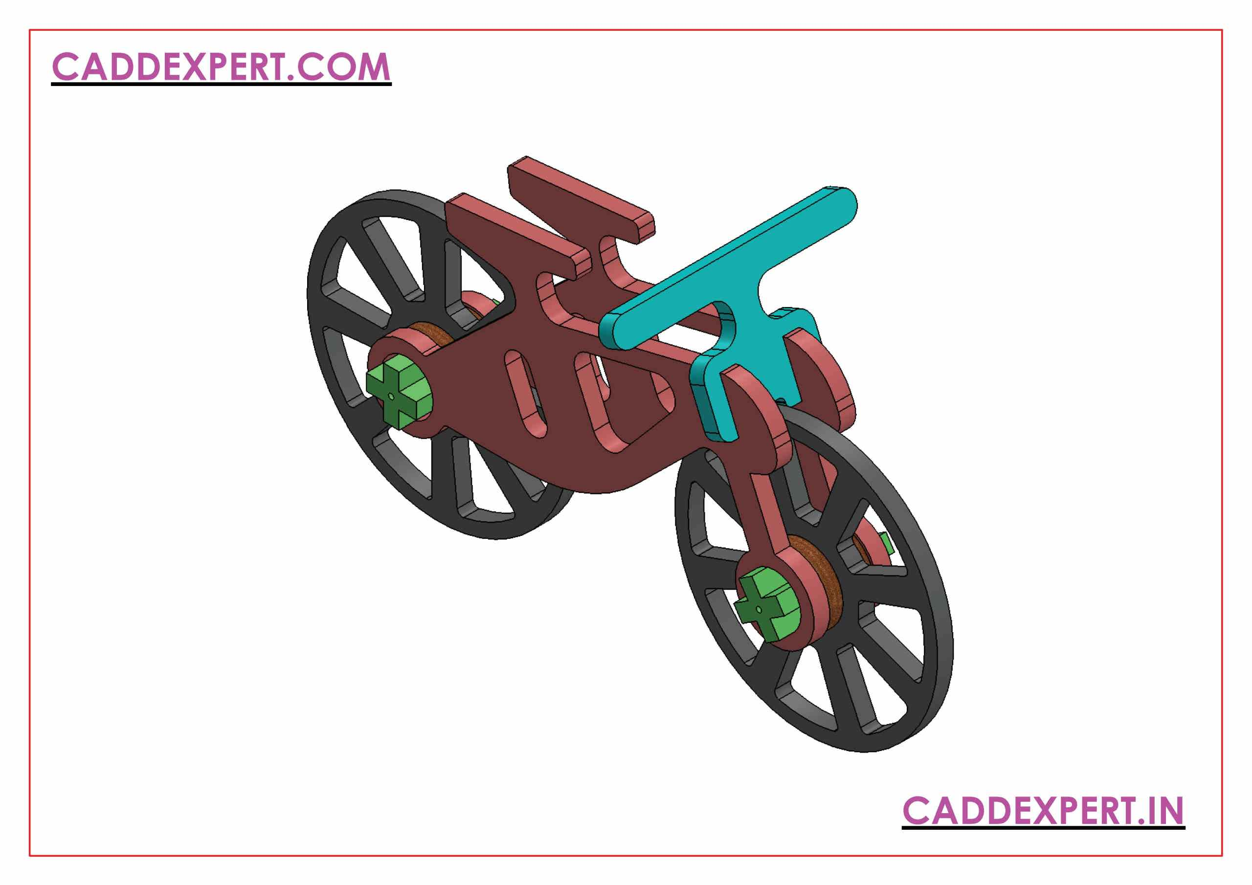 SOLIDWORKS AND CATIA ASSEMBLY ISOMETRIC VIEW - 2