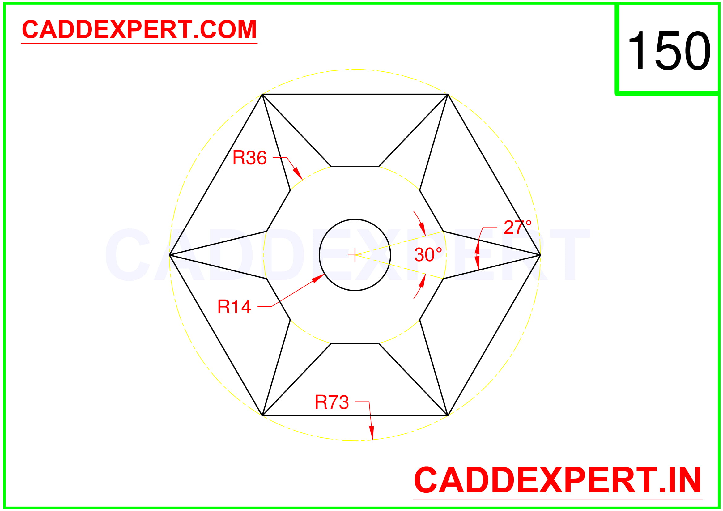 AUTOCAD 2D DRAWING FOR BEGINNER - 10