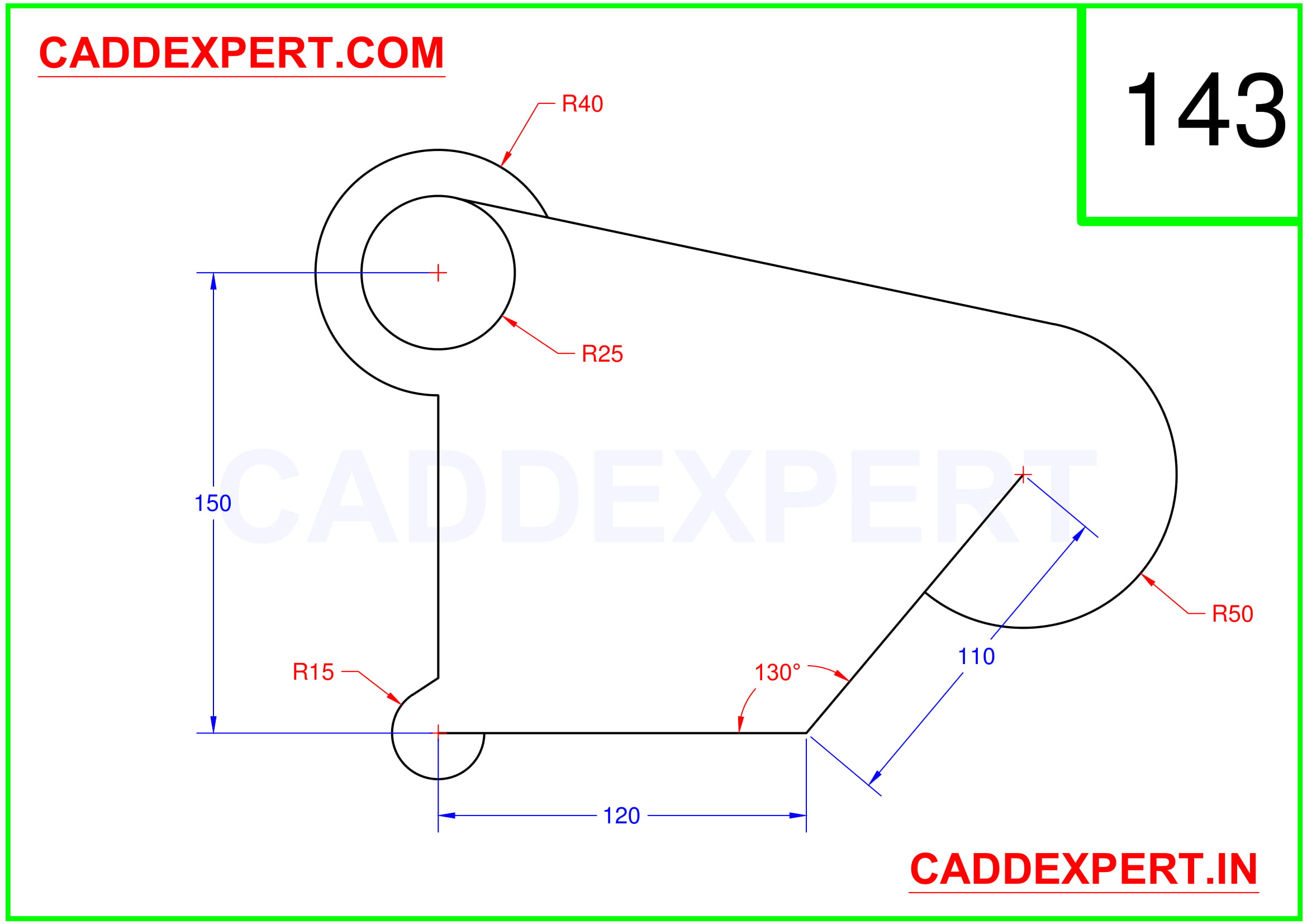AUTOCAD 2D DRAWING FOR BEGINNER - 3