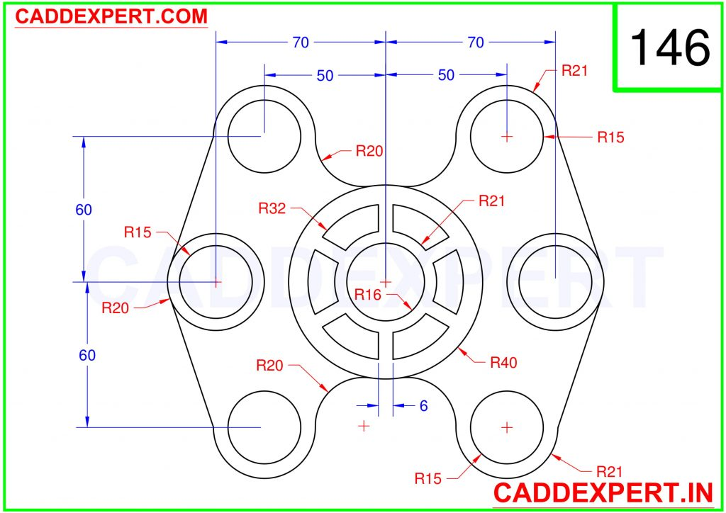 AUTOCAD 2D DRAWING FOR BEGINNER