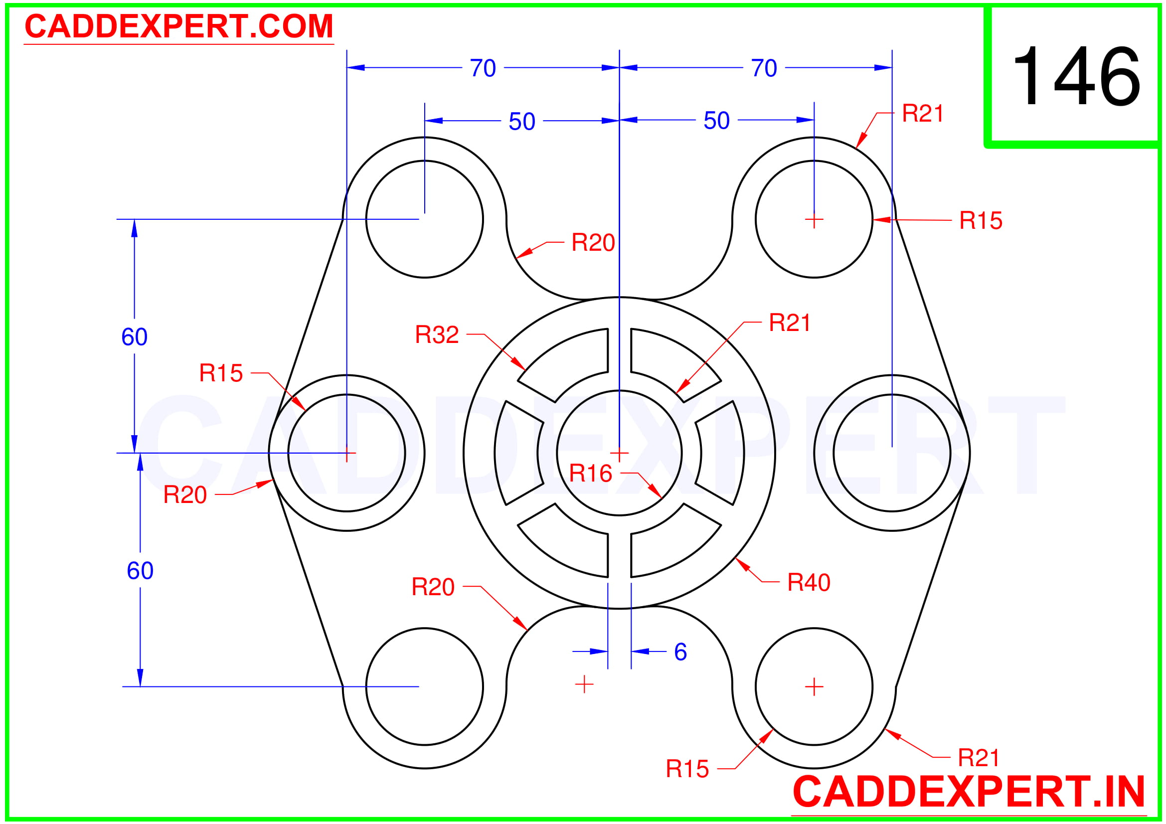 AUTOCAD 2D DRAWING FOR BEGINNER - 6