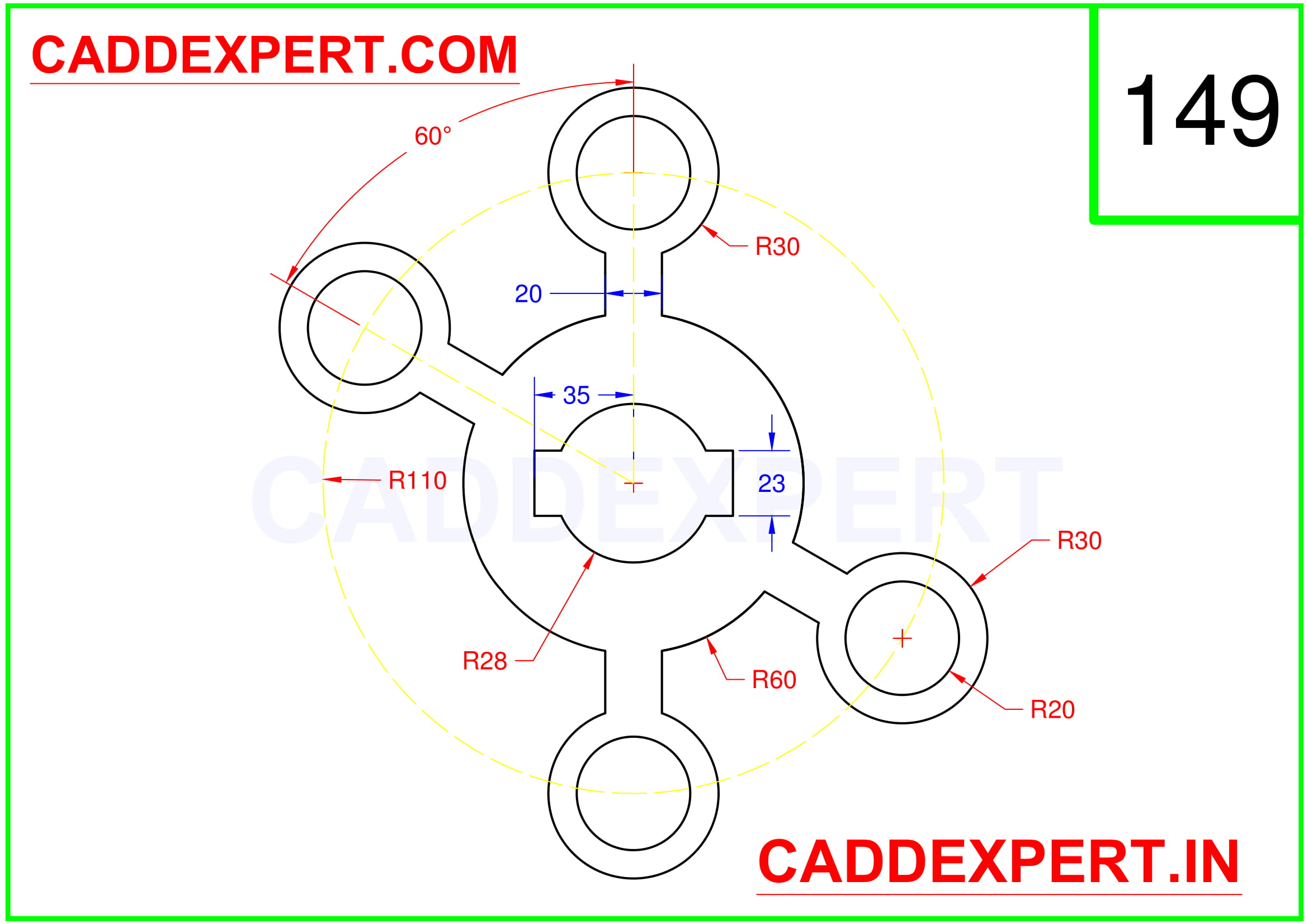 AUTOCAD 2D DRAWING FOR BEGINNER - 9