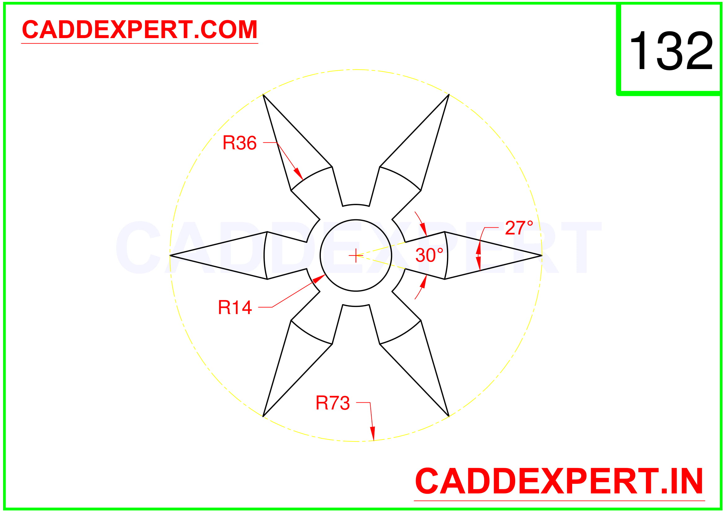 AUTOCAD 2D DRAWING IMAGE - 2