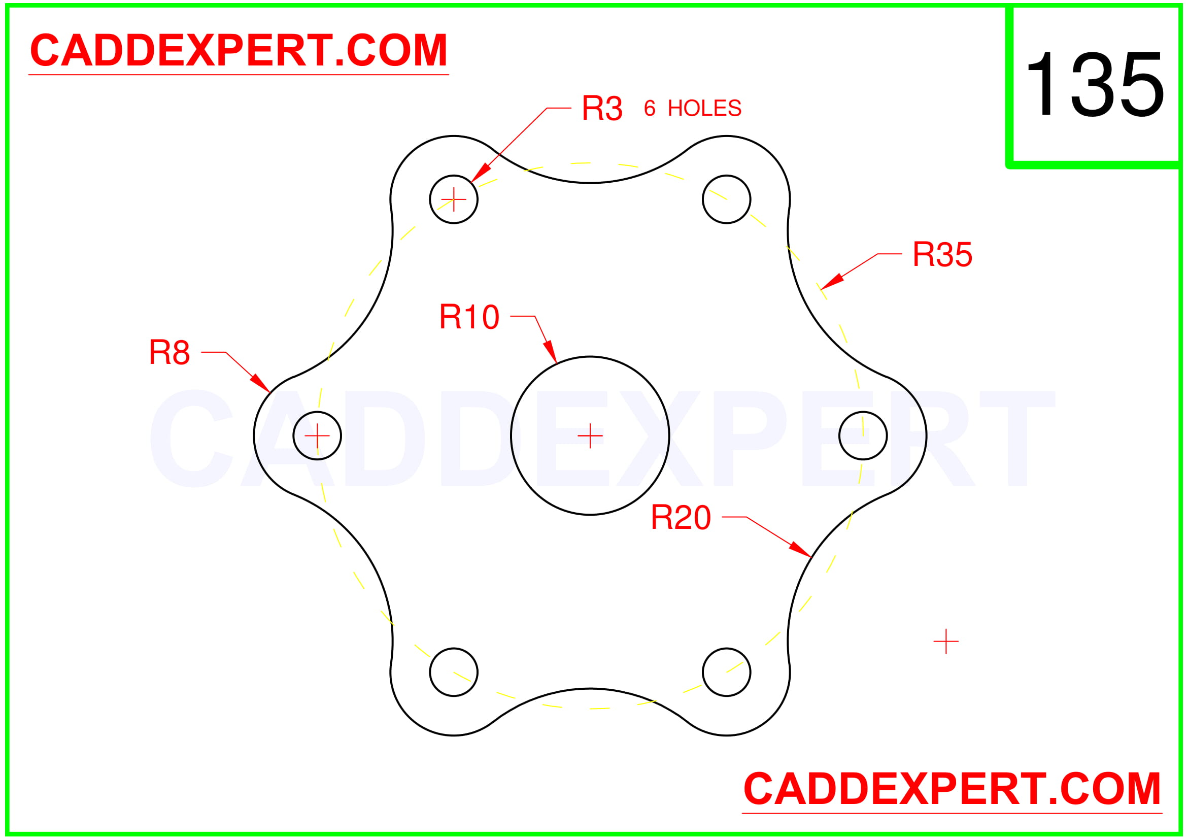 AUTOCAD 2D DRAWING IMAGE - 5