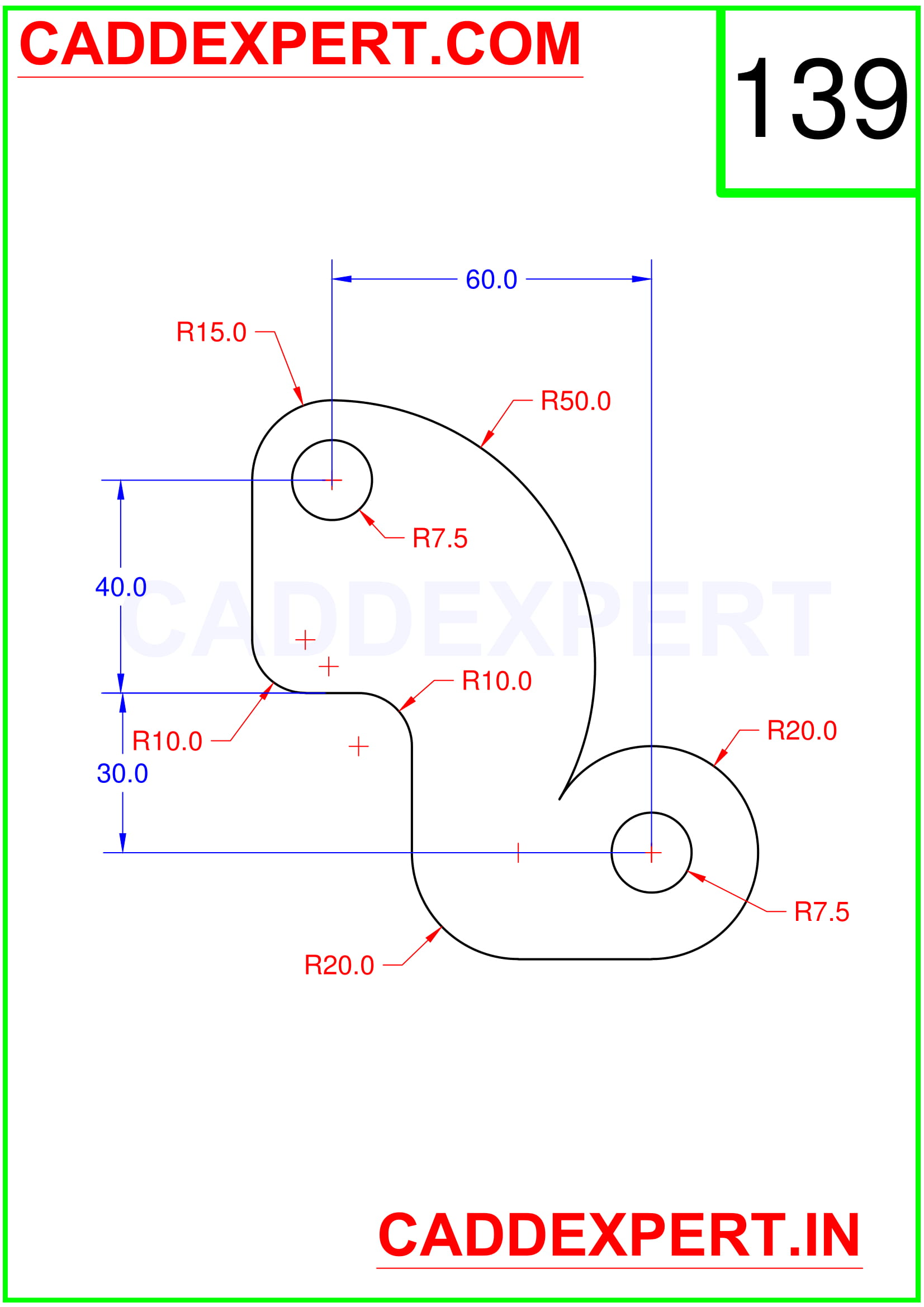 AUTOCAD 2D DRAWING IMAGE - 9