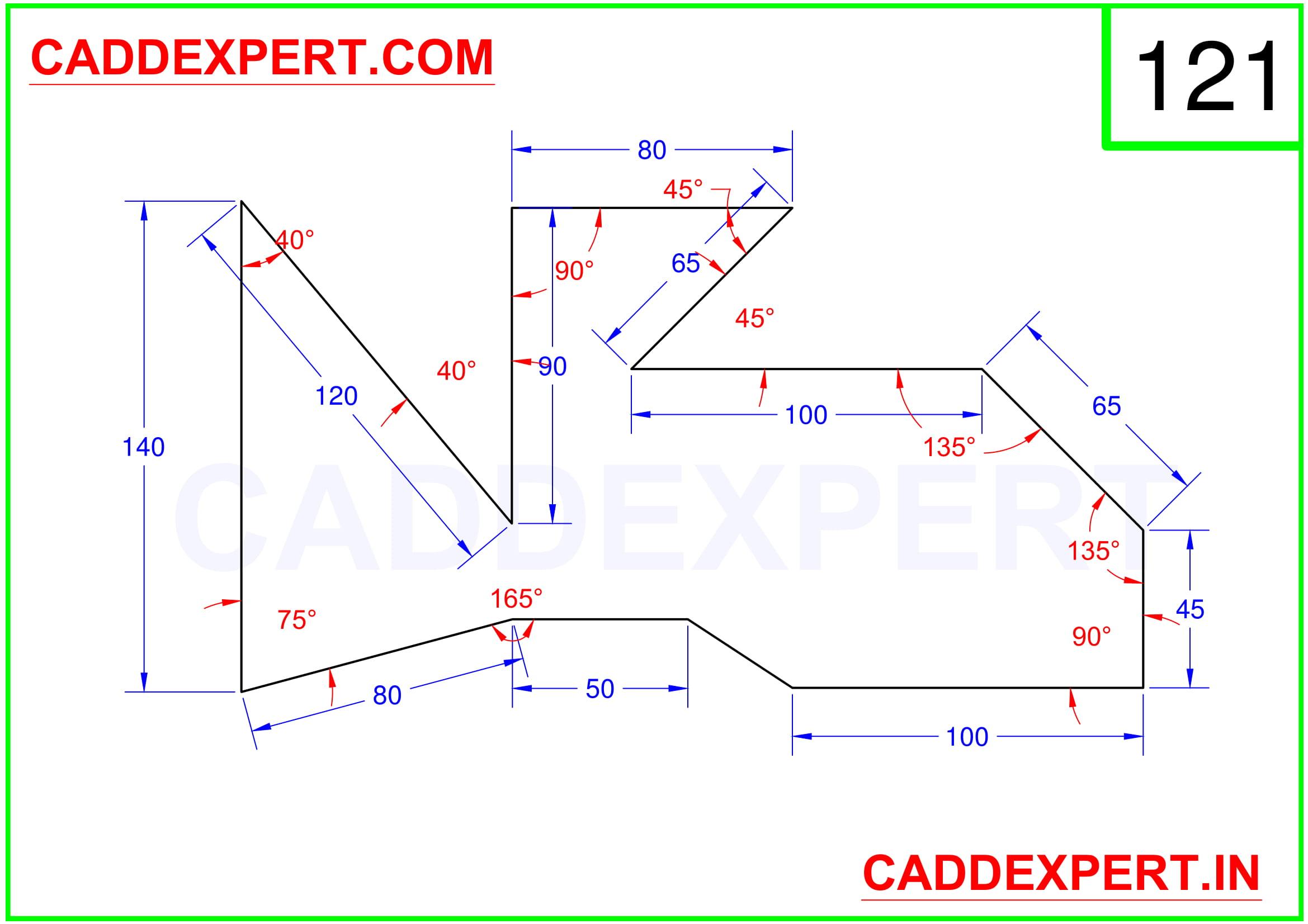AUTOCAD 2D DRAWING PDF - 1