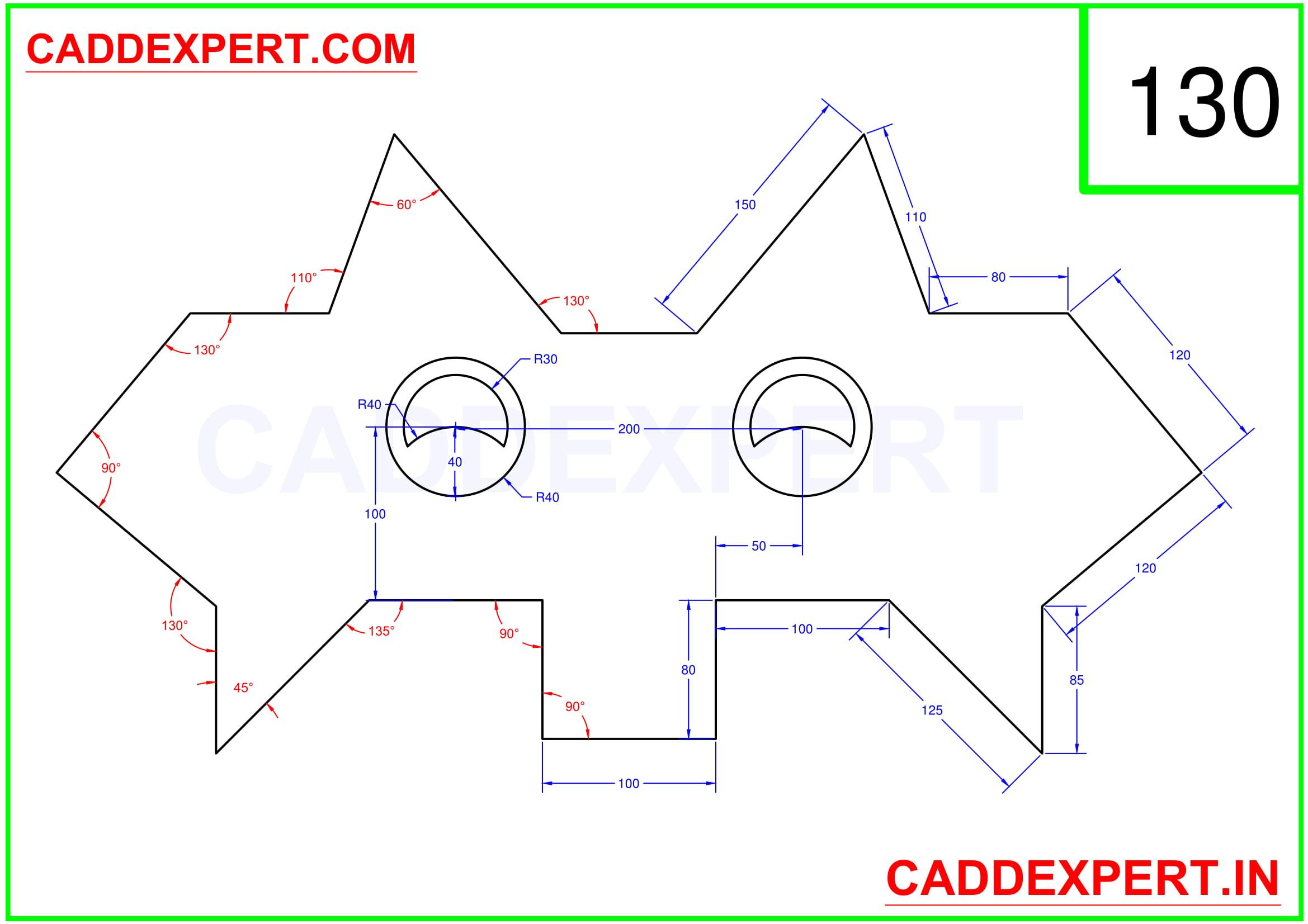 AUTOCAD 2D DRAWING PDF - 10