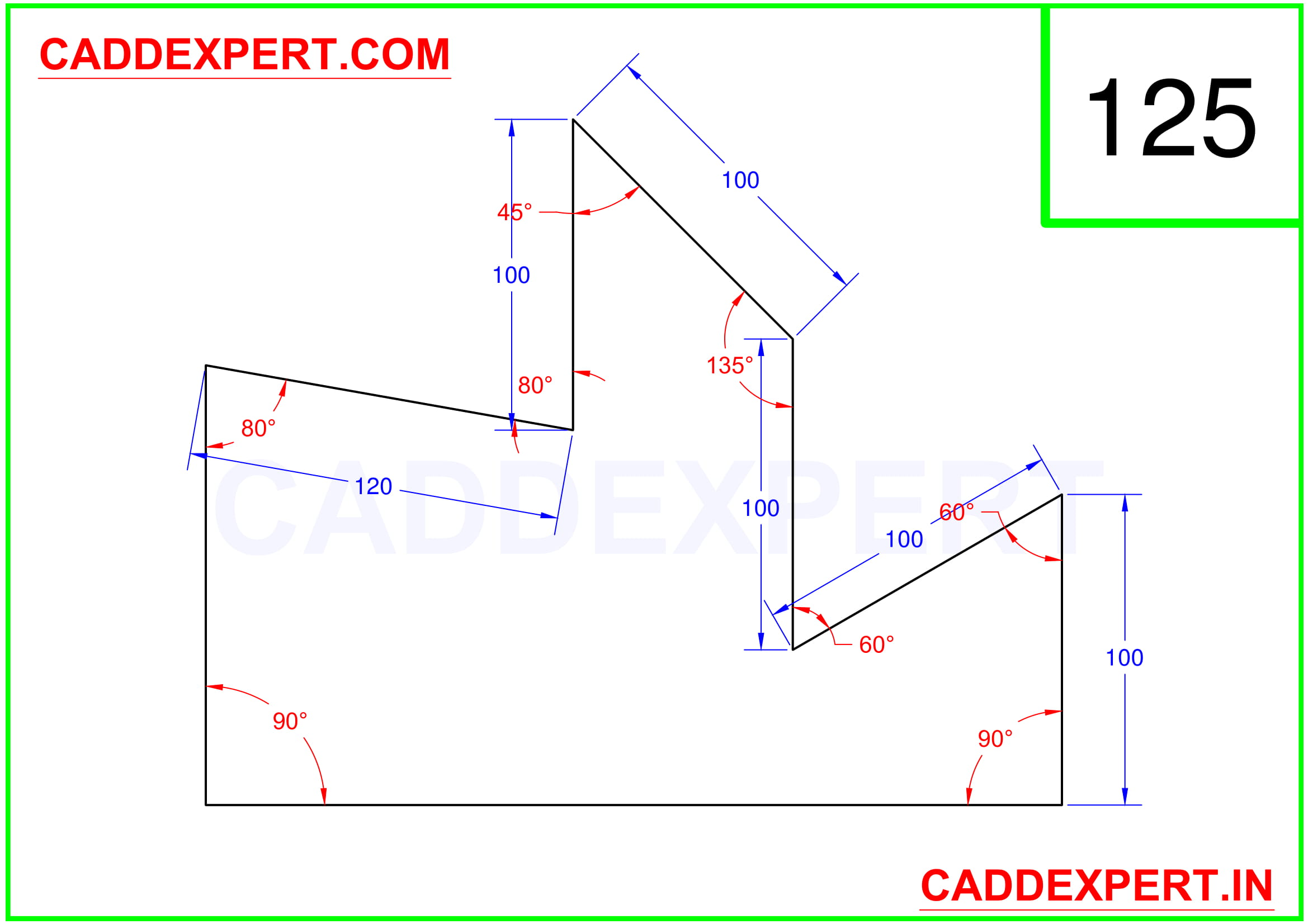 AUTOCAD 2D DRAWING PDF - 5