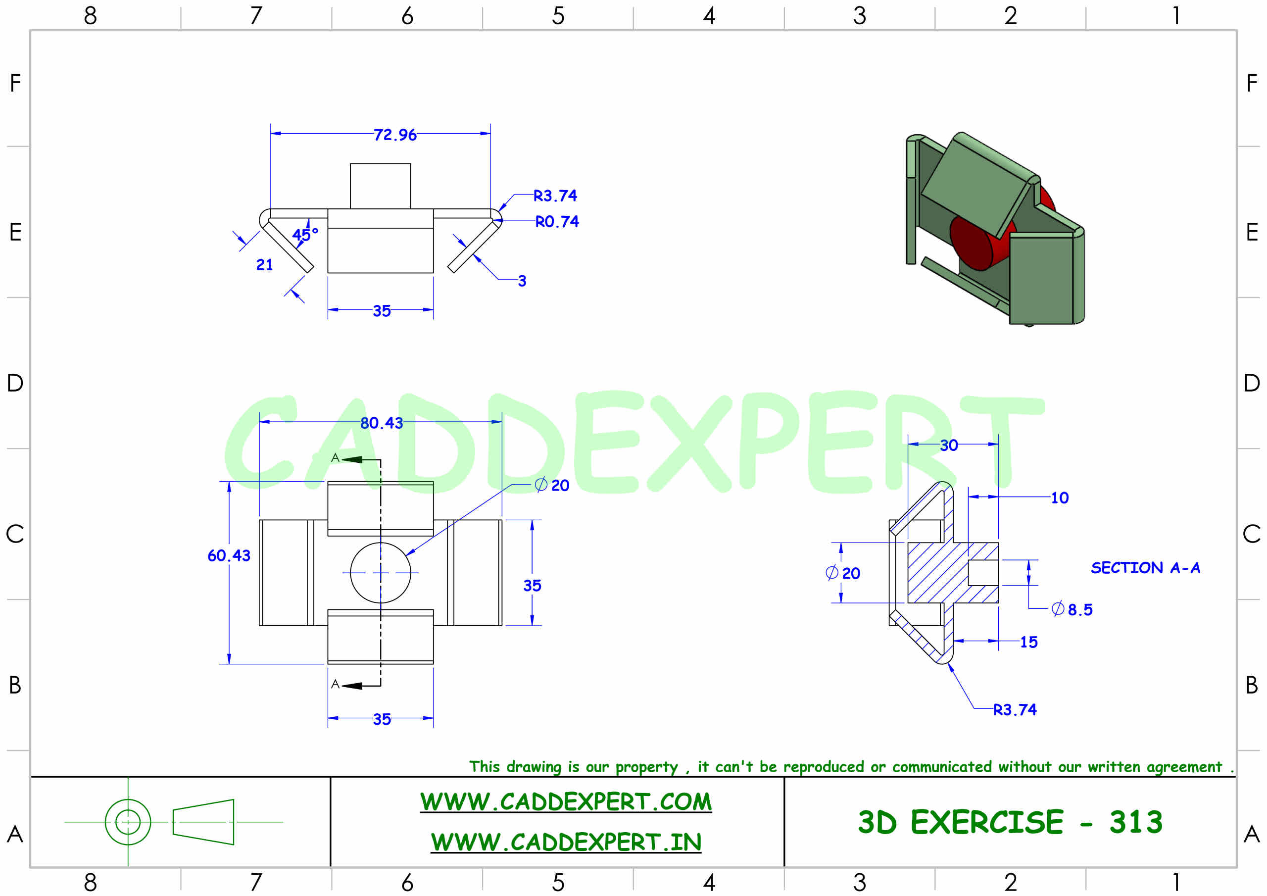 SOLIDWORKS 3D DRAWING FOR BEGINNER - 3