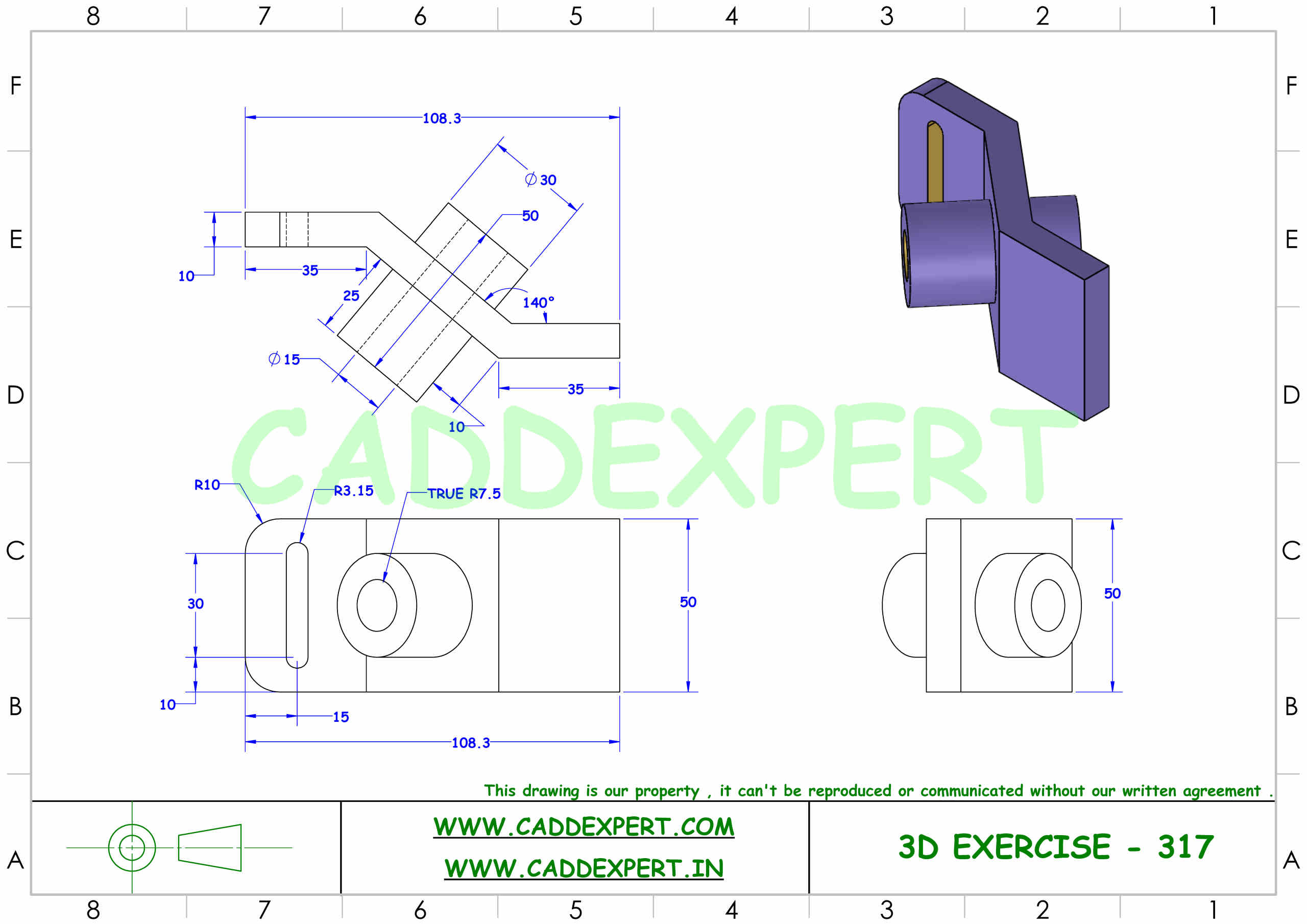 SOLIDWORKS 3D DRAWING FOR BEGINNER - 7