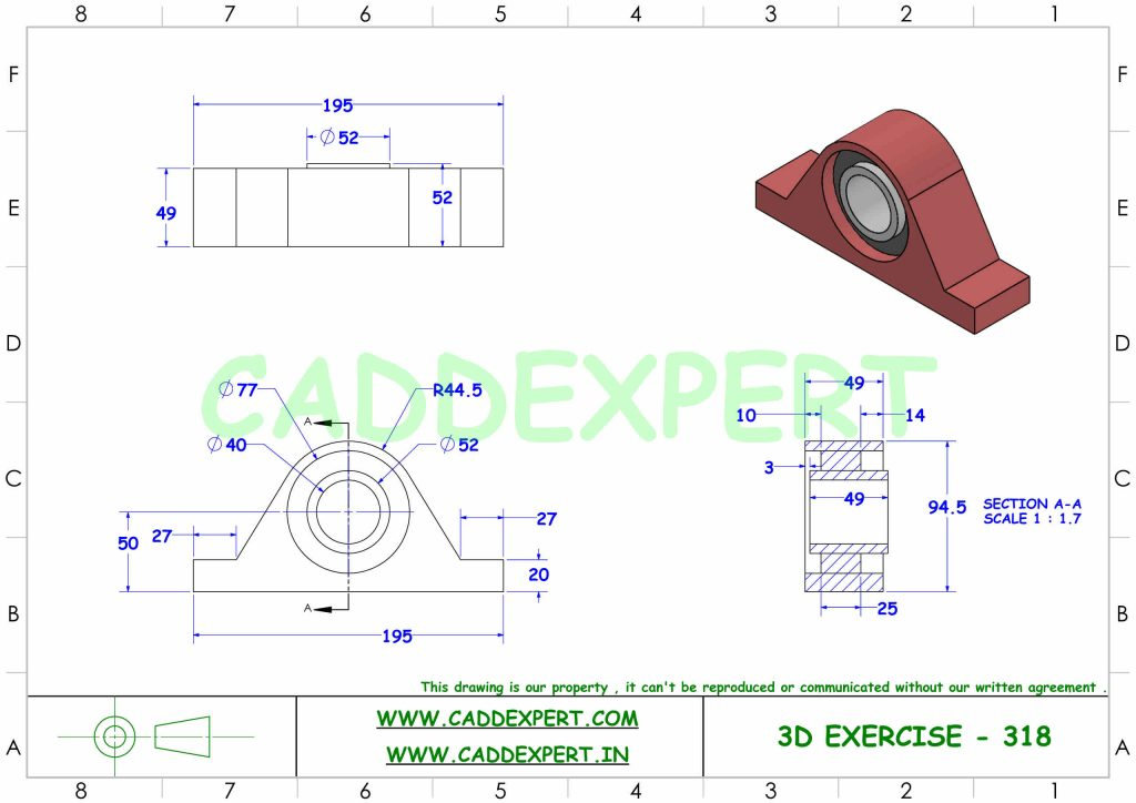 SOLIDWORKS 3D DRAWING FOR BEGINNER