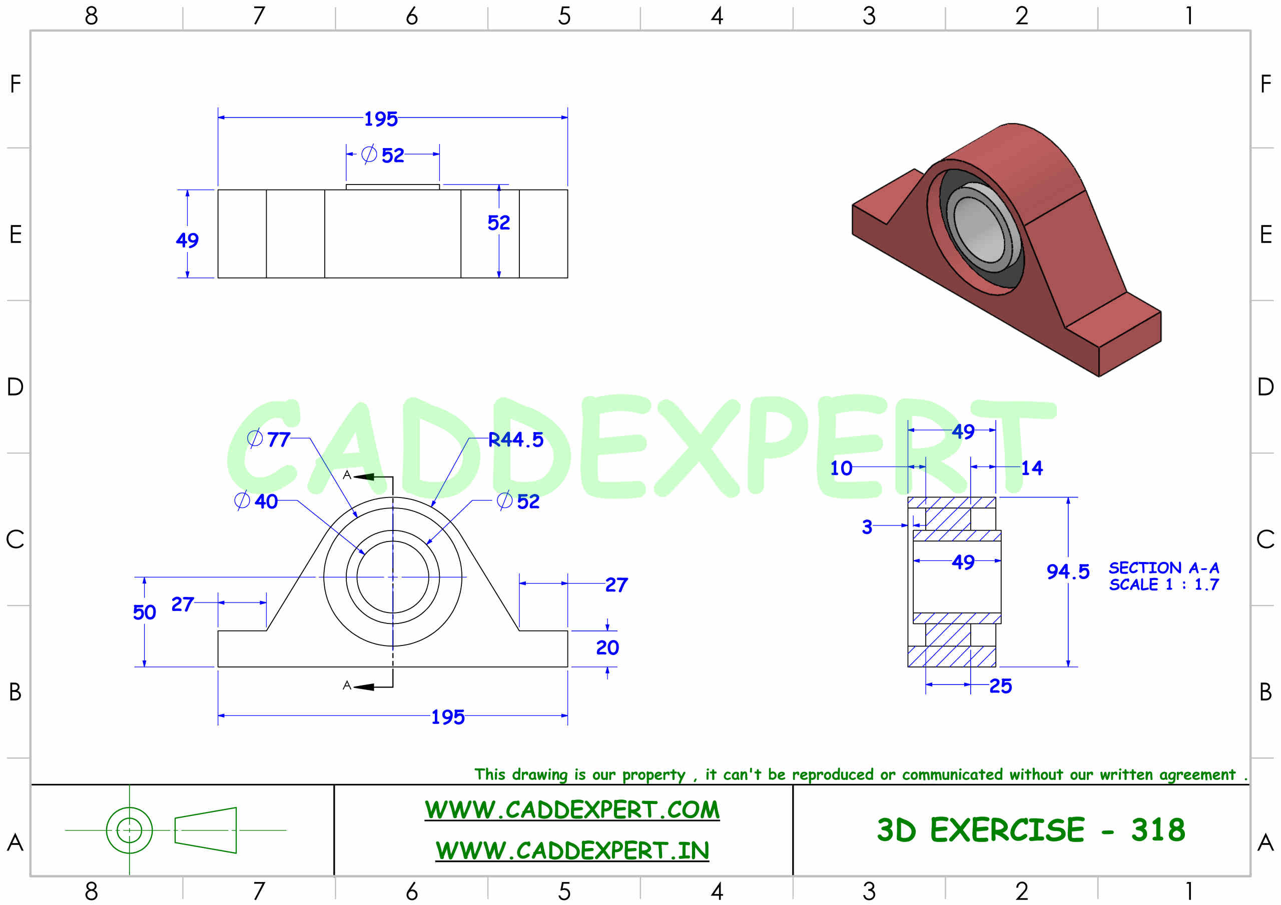 SOLIDWORKS 3D DRAWING FOR BEGINNER - 8